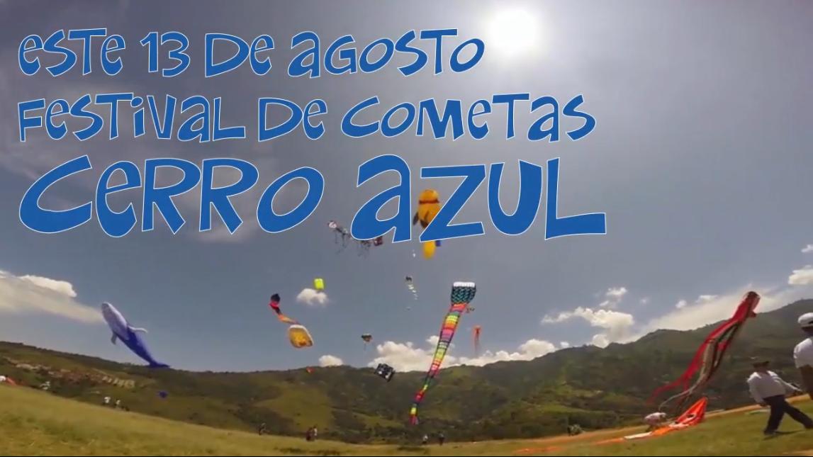 Festival de la cometa Cerro Azul 2017